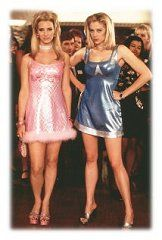 Romy and Michele - dresses