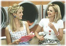 Romy and Michele - laundrette