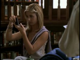 Buffy and a compass