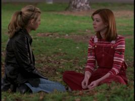 Willow makes the choice to stay in Sunnydale