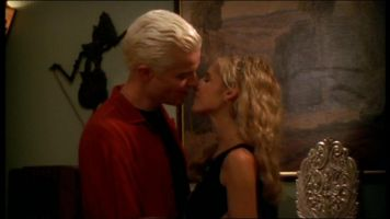 Spike and Buffy are engaged in Something Blue