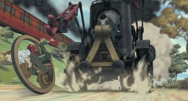 Steamboy - the first chase