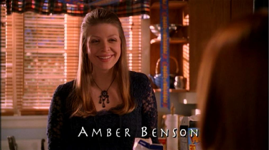 seeing-red-amber benson in the credits
