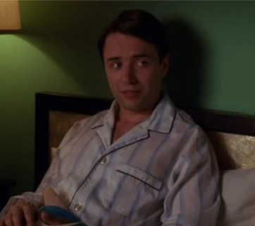 mad-men-the inheritance-pete in his pajamas
