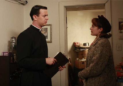 mad men - meditations in an emergency - father gill and peggy