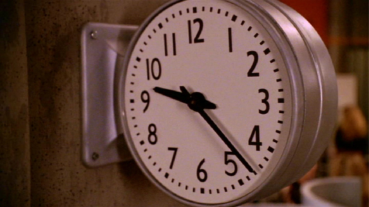 Buffy - Same Time Same Place - airport clock